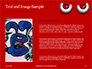 Cartoon Evil Red Eyes on Red Background Presentation slide 15