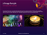 Traditional Diya Against Diwali Fireworks Background Presentation slide 11