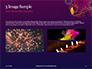 Traditional Diya Against Diwali Fireworks Background Presentation slide 12