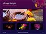 Traditional Diya Against Diwali Fireworks Background Presentation slide 13