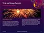 Traditional Diya Against Diwali Fireworks Background Presentation slide 14