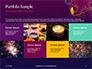 Traditional Diya Against Diwali Fireworks Background Presentation slide 17