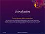 Traditional Diya Against Diwali Fireworks Background Presentation slide 3