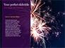Traditional Diya Against Diwali Fireworks Background Presentation slide 9