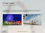 Ferris Wheel with Blue Sky Presentation slide 11