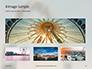 Ferris Wheel with Blue Sky Presentation slide 13