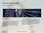 Ferris Wheel with Blue Sky Presentation slide 14