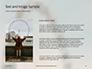 Ferris Wheel with Blue Sky Presentation slide 15