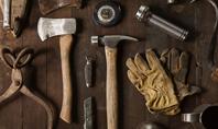 Set of Old Used Tools Presentation Presentation Template