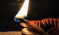 Diwali Diya Presentation Presentation Template