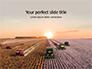 Harvest at Sunset Presentation slide 1