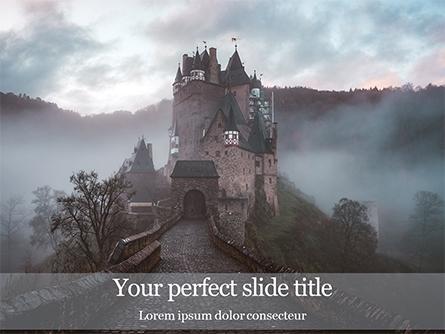 Medieval Castle Presentation Presentation Template, Master Slide