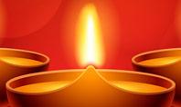 Elegant Happy Diwali Background Presentation Presentation Template