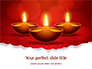 Elegant Happy Diwali Background Presentation slide 1