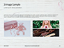Breast Cancer Pink Ribbon on Wooden Background Presentation slide 12