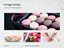 Breast Cancer Pink Ribbon on Wooden Background Presentation slide 13