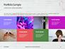 Breast Cancer Pink Ribbon on Wooden Background Presentation slide 17