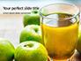 Fresh Organic Green Apple Juice Presentation slide 1