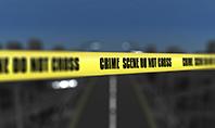 Crime Scene on a Highway Presentation Presentation Template
