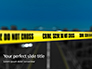 Crime Scene on a Highway Presentation slide 1