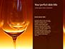 Empty Wine Glasses Presentation slide 9