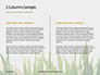 Close Up of Fresh Thick Grass Presentation slide 5