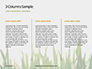 Close Up of Fresh Thick Grass Presentation slide 6