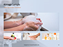 A Woman Washing Hands with Soap Presentation slide 13