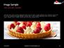 Raspberry and Milk Splashing on Spoon on Black Background Presentation slide 10