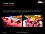 Raspberry and Milk Splashing on Spoon on Black Background Presentation slide 11