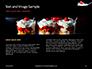 Raspberry and Milk Splashing on Spoon on Black Background Presentation slide 14