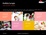 Raspberry and Milk Splashing on Spoon on Black Background Presentation slide 17