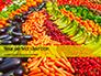 Colorful Fruits and Vegetables Presentation slide 1