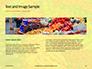 Colorful Fruits and Vegetables Presentation slide 14