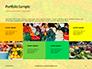 Colorful Fruits and Vegetables Presentation slide 17