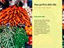 Colorful Fruits and Vegetables Presentation slide 9