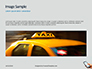 Taxi App on Mobile Phone Presentation slide 10