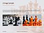 Chess Pawns on Chessboard Presentation slide 11