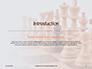 Chess Pawns on Chessboard Presentation slide 3