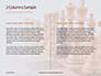 Chess Pawns on Chessboard Presentation slide 5