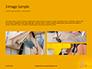 Wooden Mallet Hammer on Yellow Background Presentation slide 12