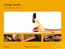Wooden Mallet Hammer on Yellow Background Presentation slide 13
