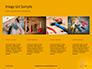 Wooden Mallet Hammer on Yellow Background Presentation slide 16