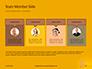 Wooden Mallet Hammer on Yellow Background Presentation slide 18