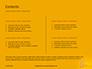 Wooden Mallet Hammer on Yellow Background Presentation slide 2