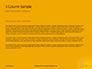 Wooden Mallet Hammer on Yellow Background Presentation slide 4