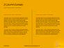 Wooden Mallet Hammer on Yellow Background Presentation slide 5