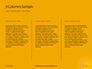 Wooden Mallet Hammer on Yellow Background Presentation slide 6
