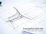 Sketch of a Furniture Product Presentation slide 1