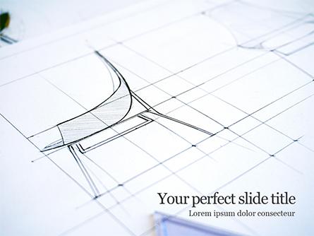 Sketch of a Furniture Product Presentation Presentation Template, Master Slide